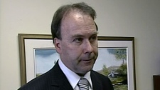 Former Quebec Liberal justice minister Marc Bellemare speaks to TVA in a interview.
