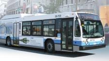 Montreal bus graphic public transit STM