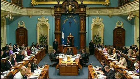 The National Assembly in Quebec City.  (June 2, 2010)