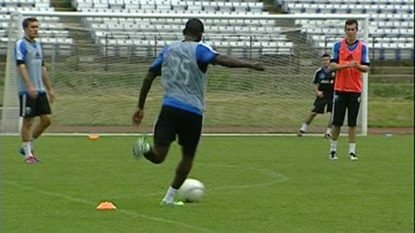 Members of the Montreal Impact will be working with a new player this week (May 15, 2012)