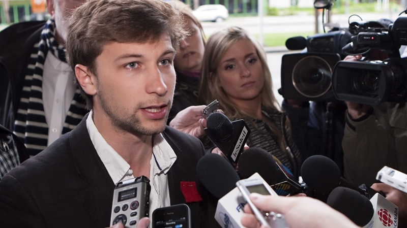 Gabriel Nadeau Dubois, Montreal, student strikes, tuition fee, Quebec City