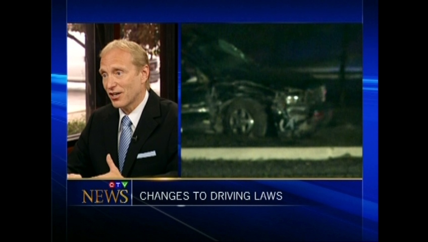 CTV Montreal: Newsmaker: Jordan Charness on driving laws
