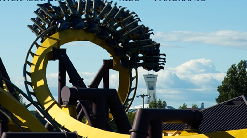 The Vampire ride is one of the top attractions at La Ronde. (Image laronde.com)