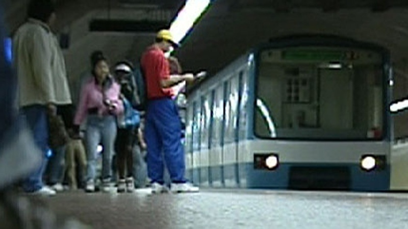 A computer glitch shut down the metro for 45 minutes Sunday morning.