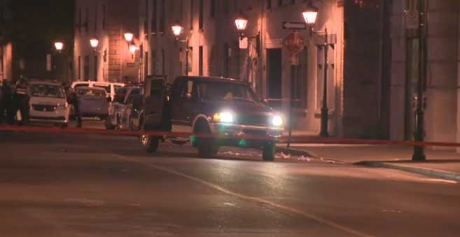 A police officer shot a 24-year-old man trying to flee from the Old Port of Montreal Saturday.