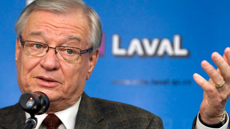 Former Laval Mayor Gilles Vaillancourt, seen in this CP file photo, will be replaced next week by Laval's first new mayor since 1989.