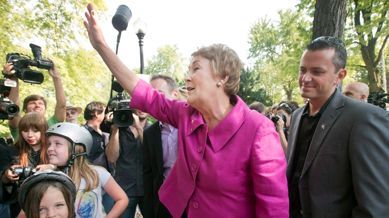 Parti Quebecois leader Pauline Marois has been a force for political uncertainty, according to CTV Montreal Executive Producer Barry Wilson. (THE CANADIAN PRESS/Ryan Remiorz)