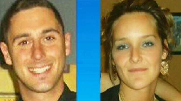 Nikolas Stefanatos and Tanya St-Arnauld are seen in this undated image.