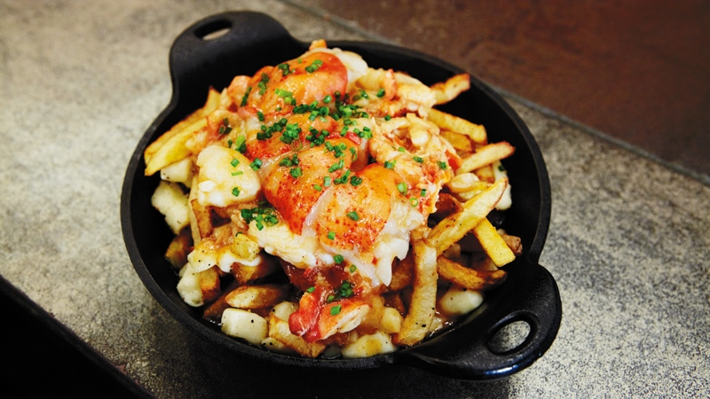 Lobster Poutine - Chuck Hughes. Photography by Dominique Lafond. Published by HarperCollins Publishers Ltd. by arrangement with Les Éditions La Presse Ltée