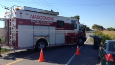 Police have set up a command post in Mascouche after a man was shot and killed overnight (Sept. 13,