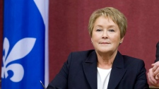 Pauline Marois international trip