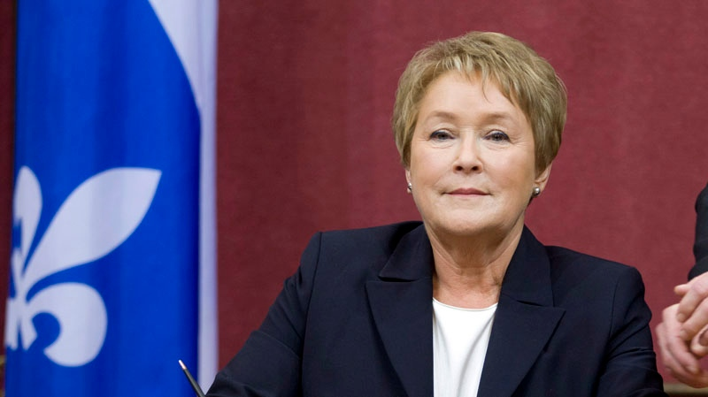 Pauline Marois, Quebec's first-ever female premier, could encourage other women to join the world of politics. (CP file photo).