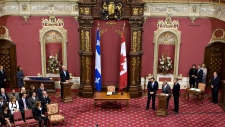 Canadian flag returns to legislature in Quebec City