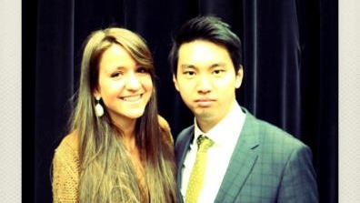 Karina Joly and Ted Shen.