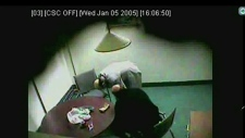RCMP surveillance video