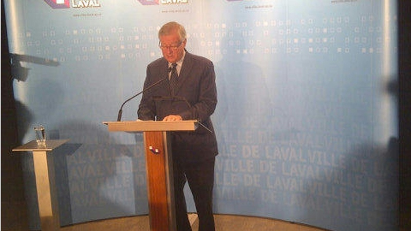 Laval mayor Gilles Vaillancourt denies he is corrupt, and says he will not resign (Oct. 5, 2012)