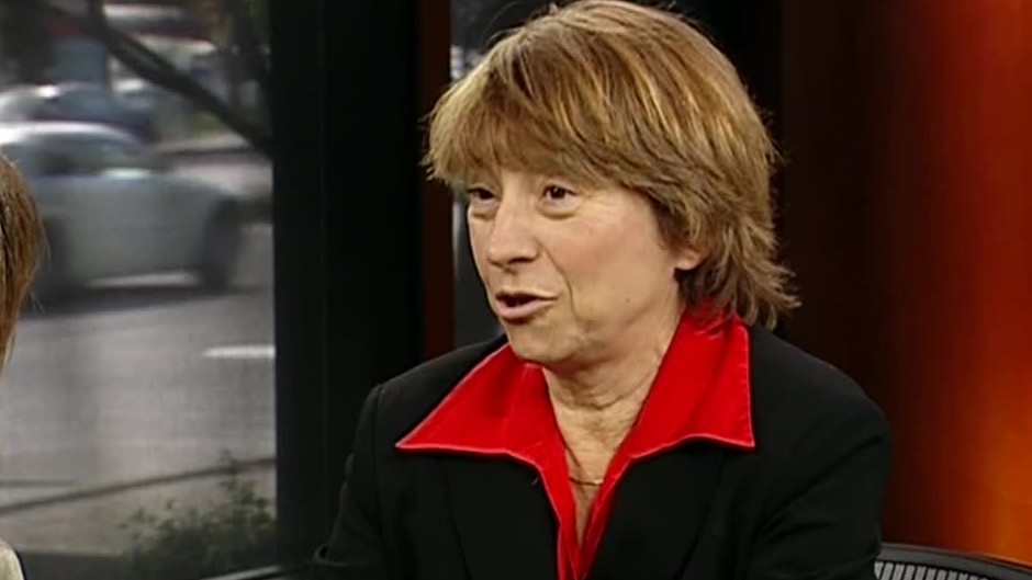 Francoise David, co-leader of Quebec Solidaire