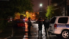 police officer shooting in lasalle, montreal